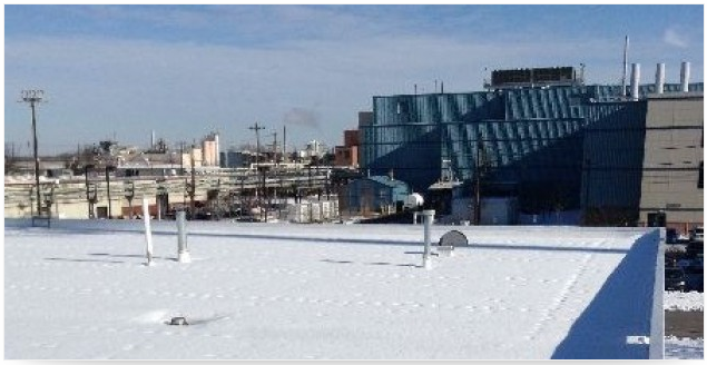 Winterizing A Commercial Roof for Ice, Snow and Cold
